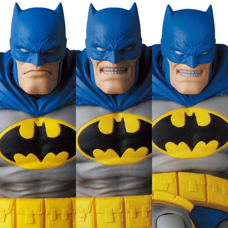 マフェックス No.133『MAFEX BATMAN BLUE Ver. & ROBIN(The Dark Knight Returns)/バットマン&ロビン』可動フィギュア-008