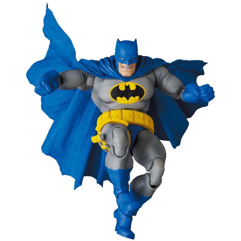 マフェックス No.133『MAFEX BATMAN BLUE Ver. & ROBIN(The Dark Knight Returns)/バットマン&ロビン』可動フィギュア-010