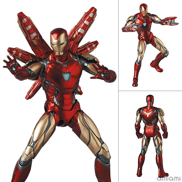 マフェックス No.136『MAFEX IRON MAN MARK85(Endgame Ver.)/アイアンマン マーク85 エンドゲーム版』アベンジャーズ 可動フィギュア