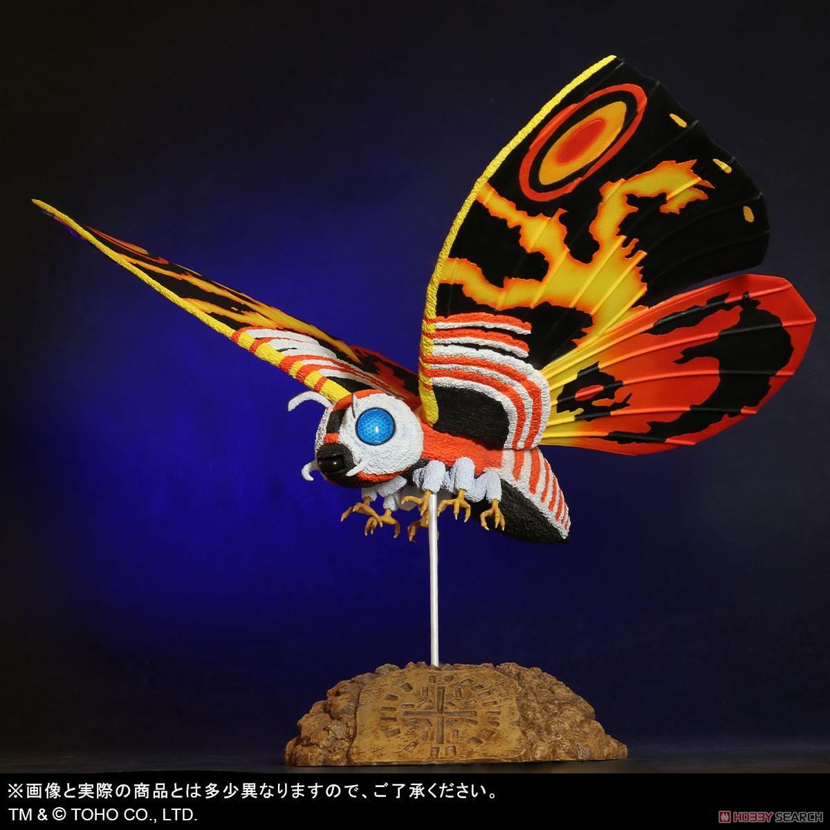 東宝大怪獣シリーズ『モスラ(1992)』ゴジラvsモスラ 完成品フィギュア-001