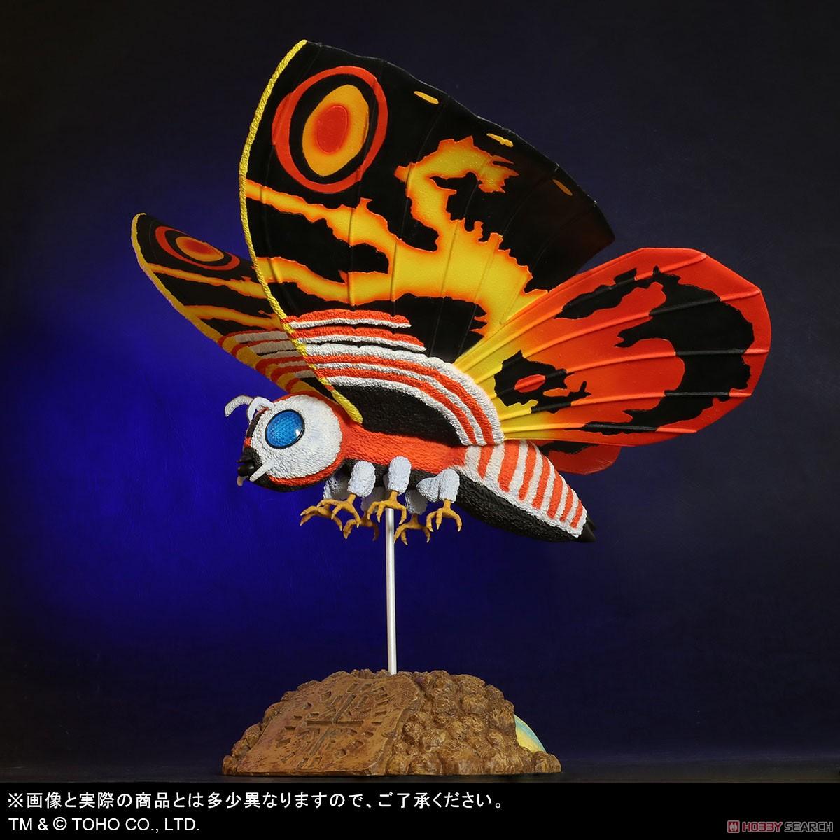 東宝大怪獣シリーズ『モスラ(1992)』ゴジラvsモスラ 完成品フィギュア-003