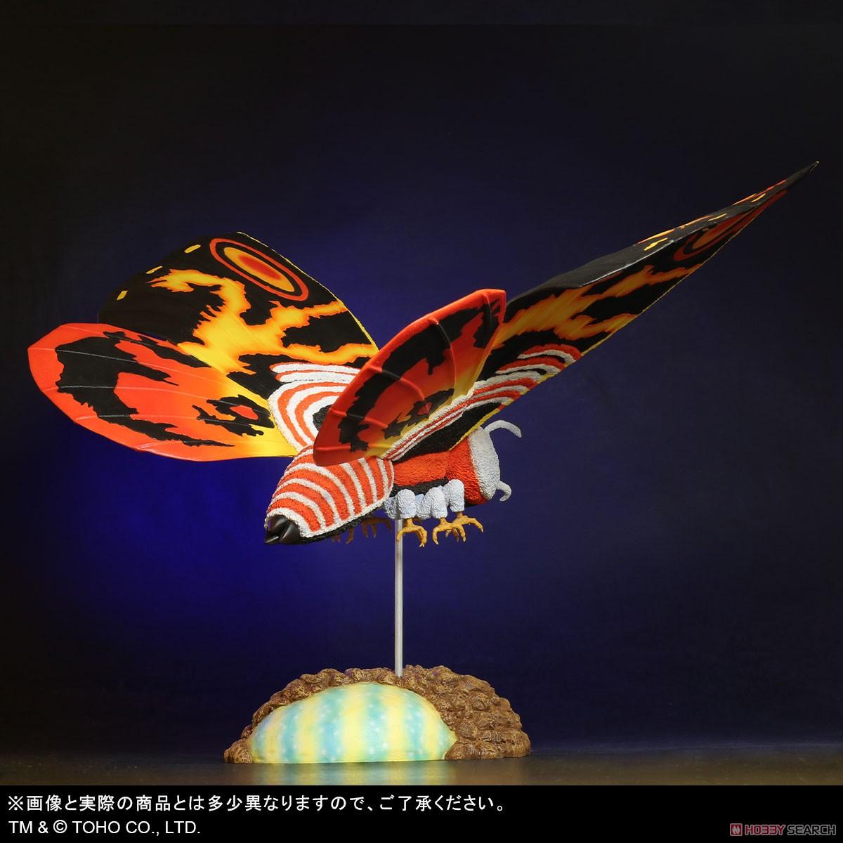 東宝大怪獣シリーズ『モスラ(1992)』ゴジラvsモスラ 完成品フィギュア-004