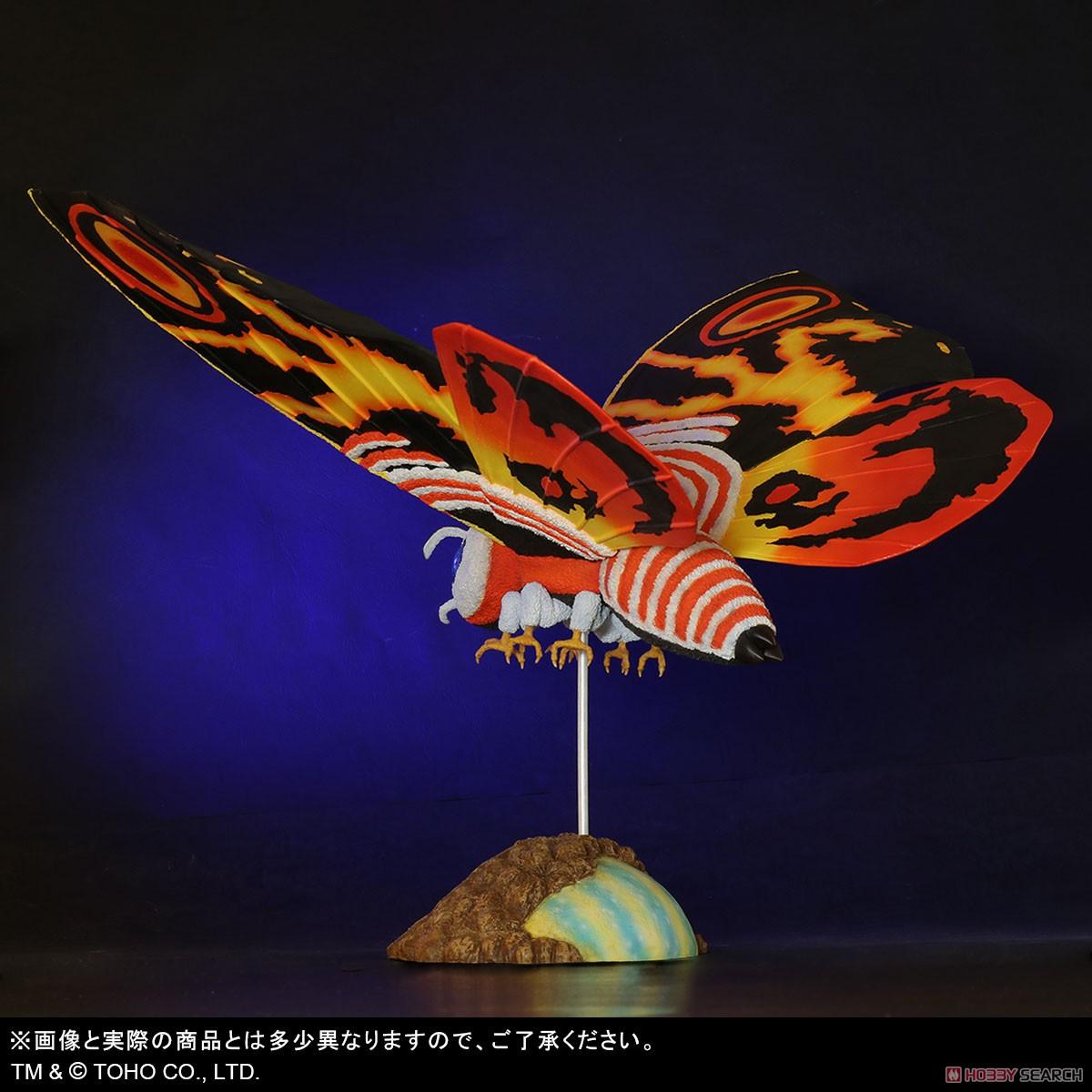 東宝大怪獣シリーズ『モスラ(1992)』ゴジラvsモスラ 完成品フィギュア-005