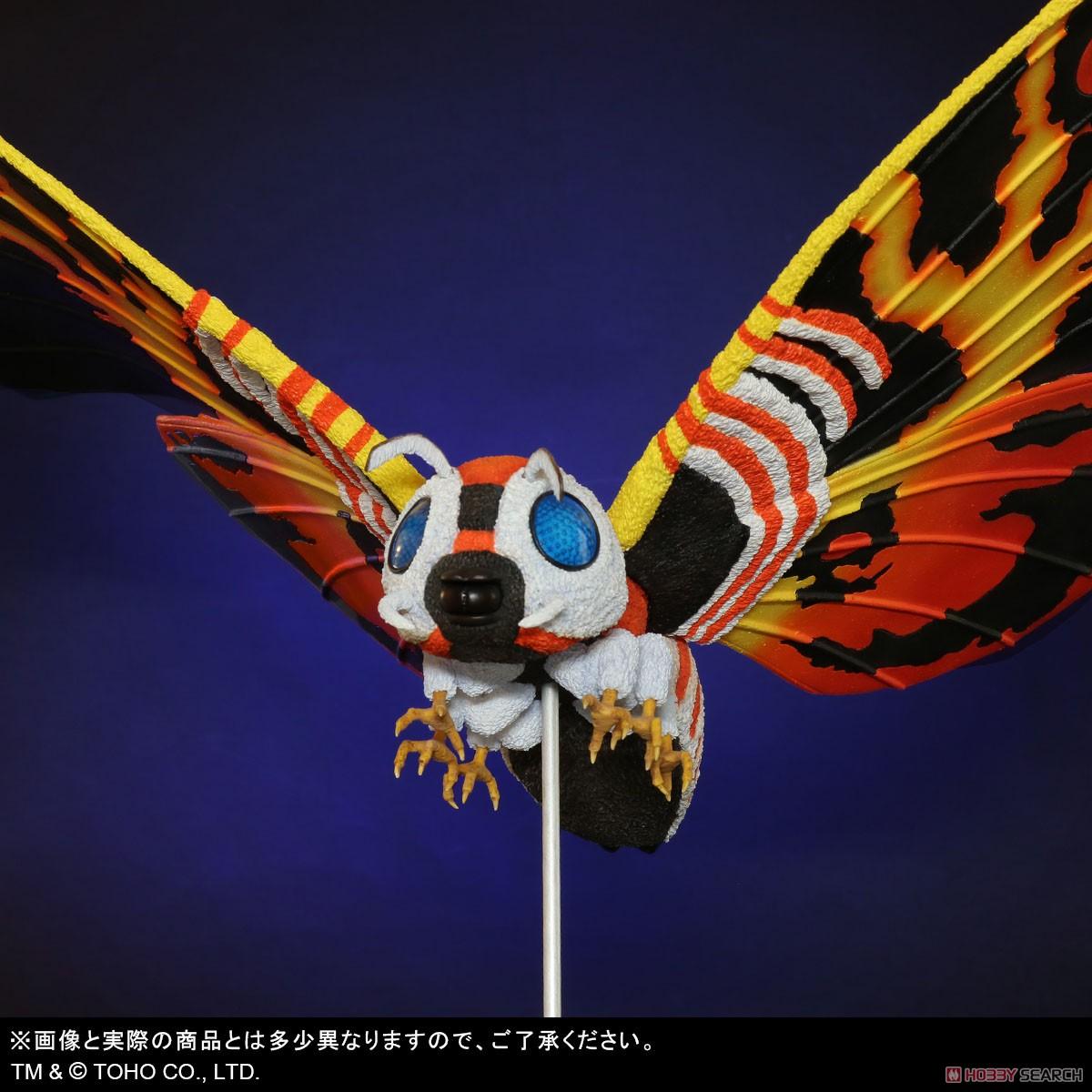 東宝大怪獣シリーズ『モスラ(1992)』ゴジラvsモスラ 完成品フィギュア-006
