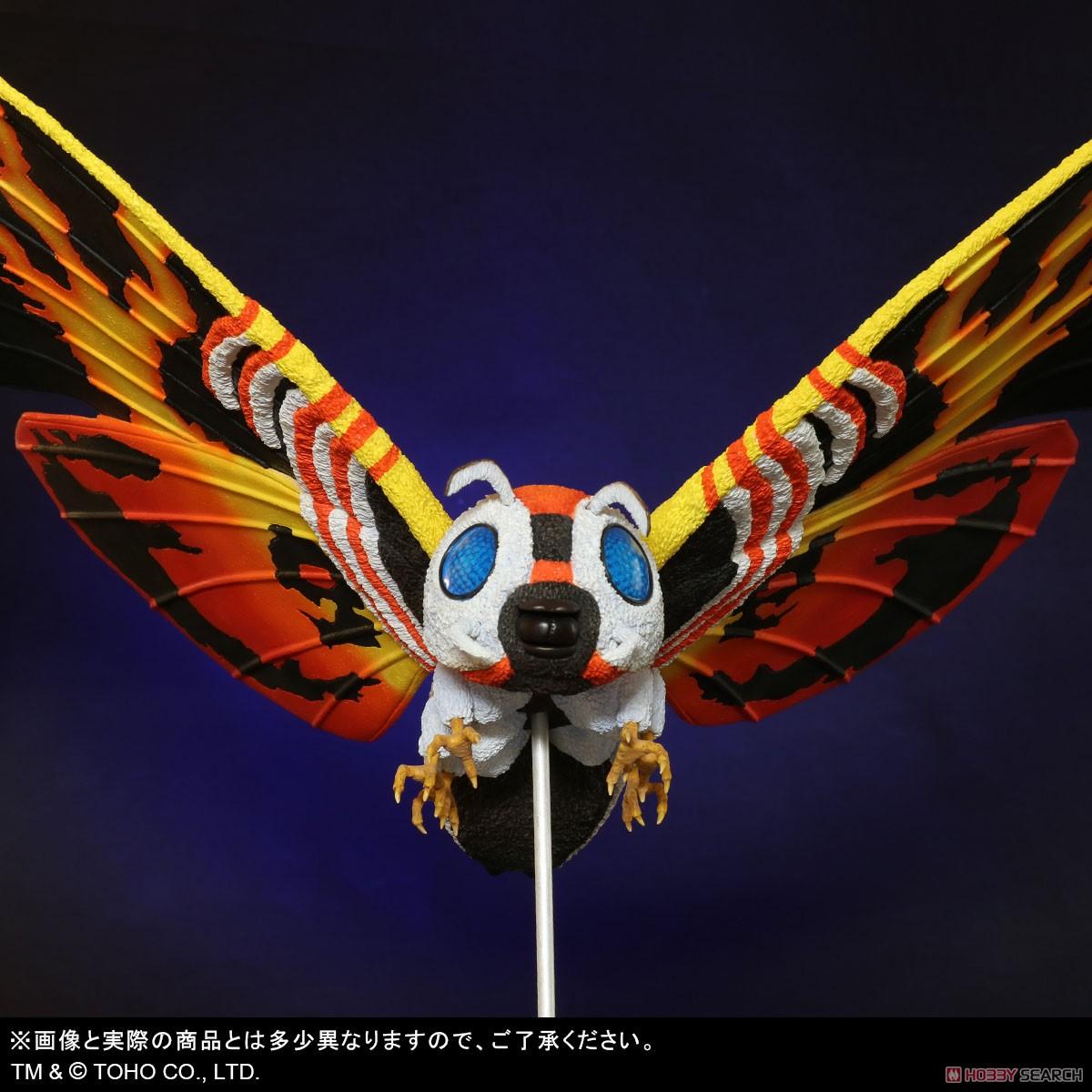 東宝大怪獣シリーズ『モスラ(1992)』ゴジラvsモスラ 完成品フィギュア-007