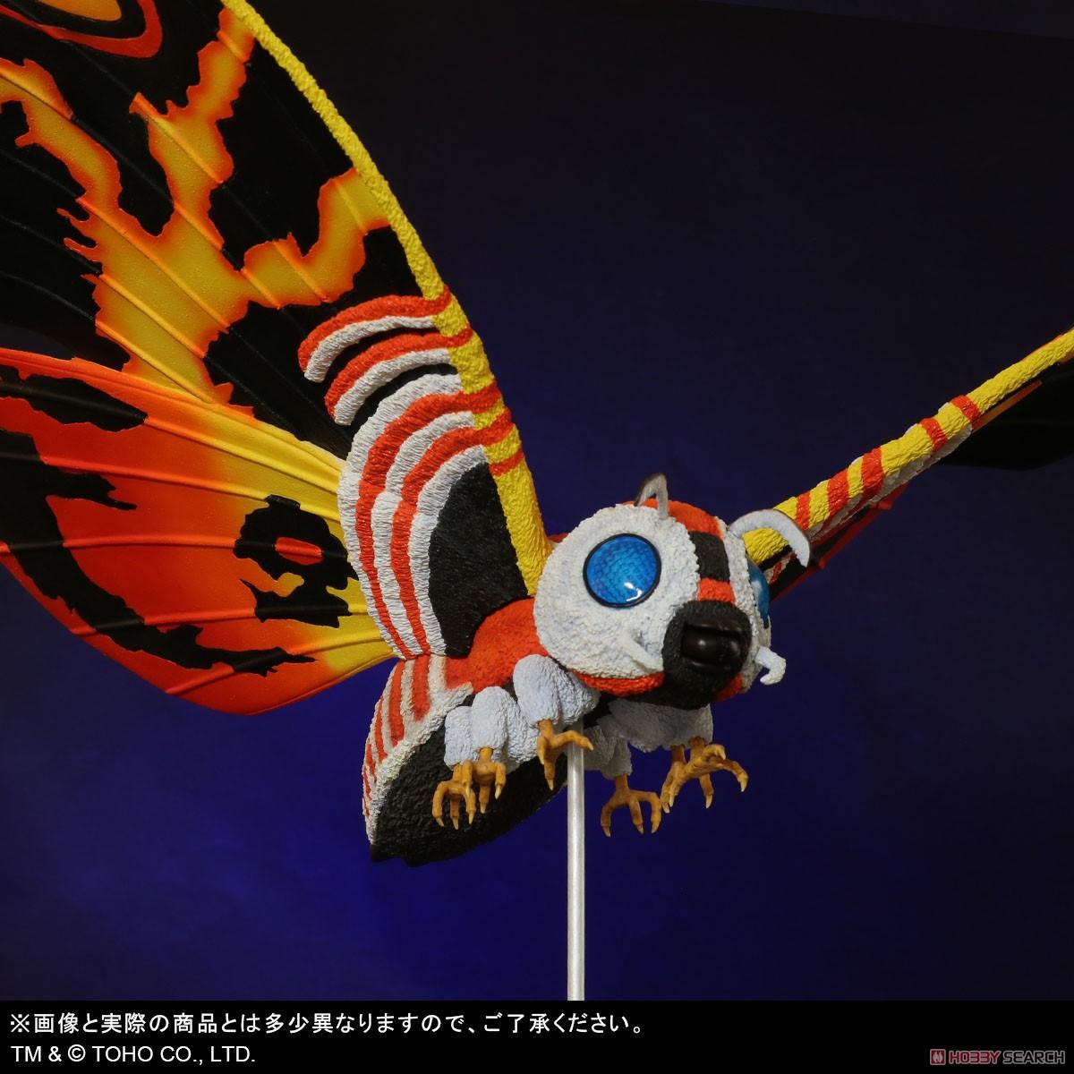 東宝大怪獣シリーズ『モスラ(1992)』ゴジラvsモスラ 完成品フィギュア-008