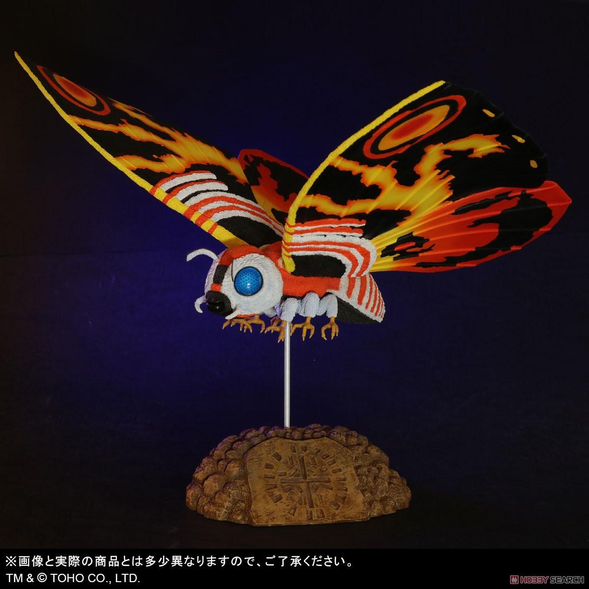 東宝大怪獣シリーズ『モスラ(1992)』ゴジラvsモスラ 完成品フィギュア-009