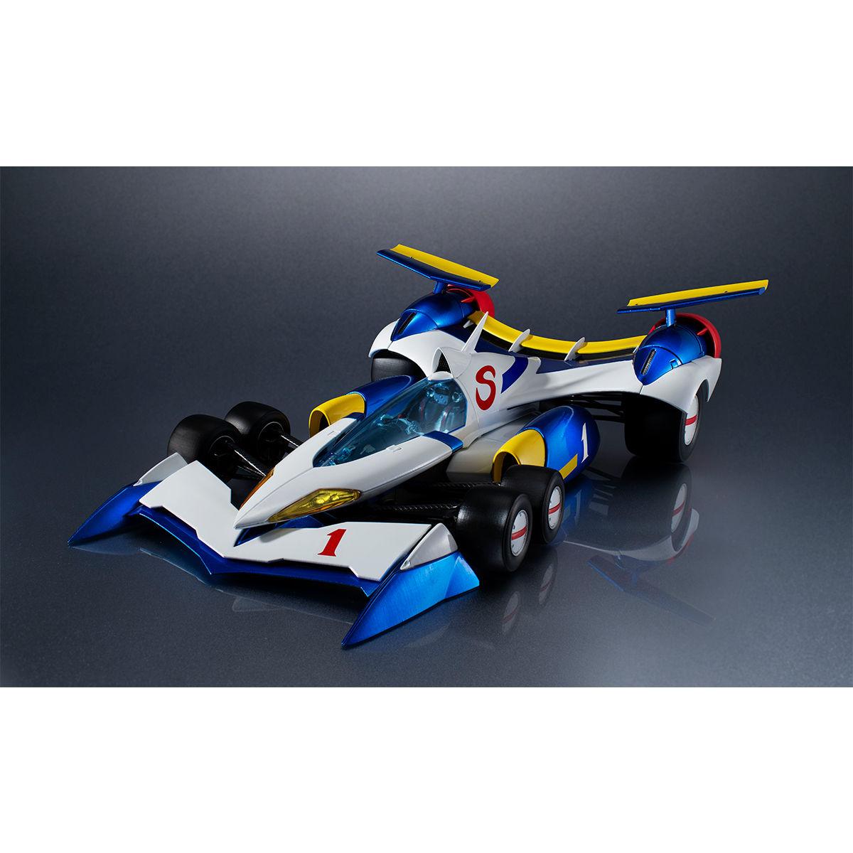 ヴァリアブルアクション Hi-SPEC『スーパーアスラーダ AKF-11』新世紀GPXサイバーフォーミュラ 1/18 可動モデル-001
