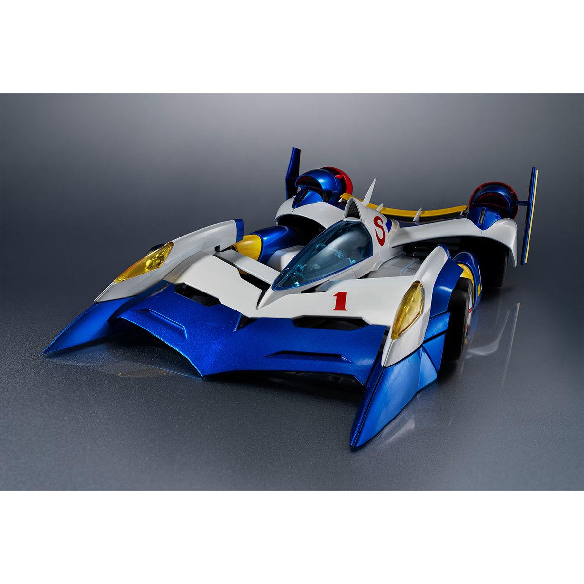 ヴァリアブルアクション Hi-SPEC『スーパーアスラーダ AKF-11』新世紀GPXサイバーフォーミュラ 1/18 可動モデル-003