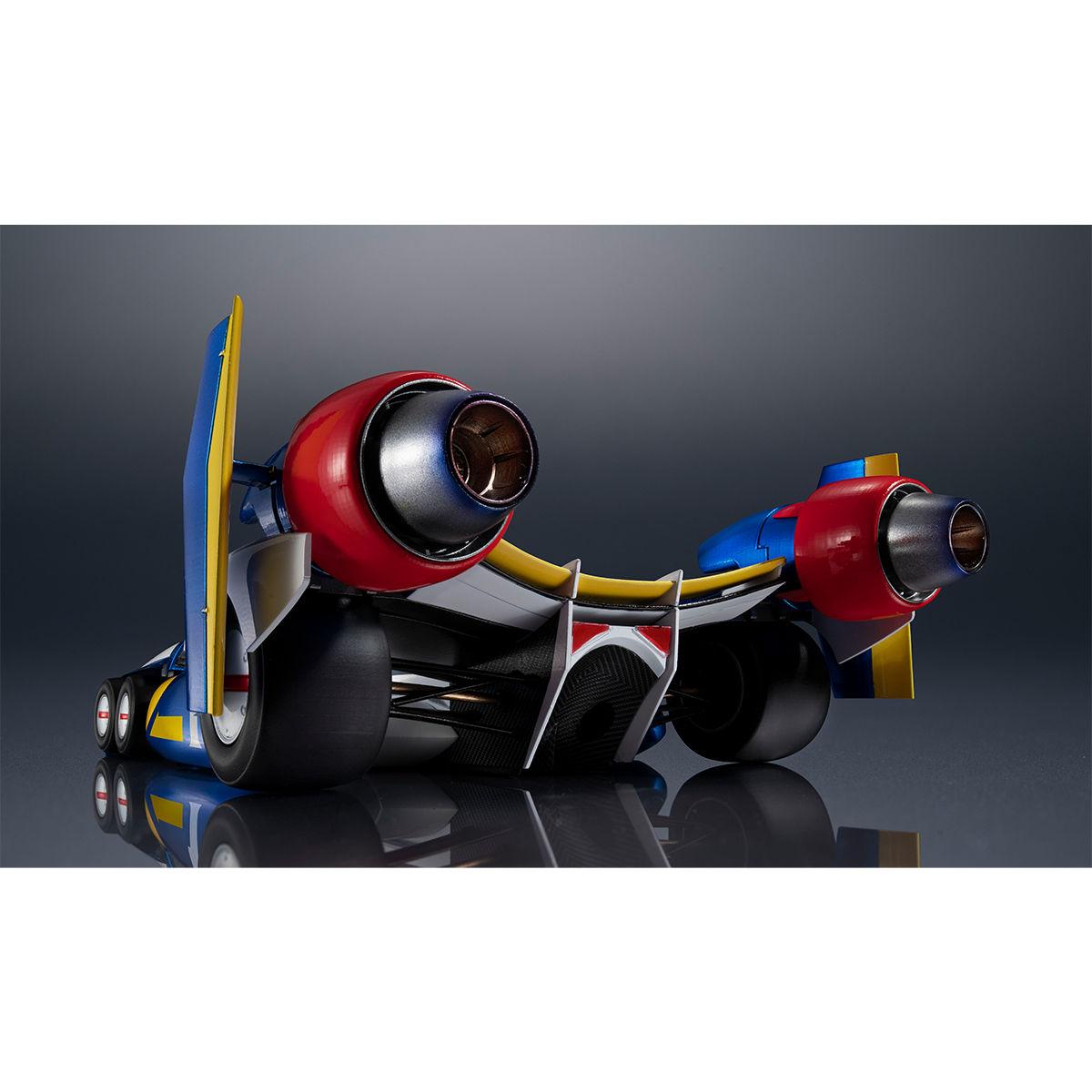 ヴァリアブルアクション Hi-SPEC『スーパーアスラーダ AKF-11』新世紀GPXサイバーフォーミュラ 1/18 可動モデル-006