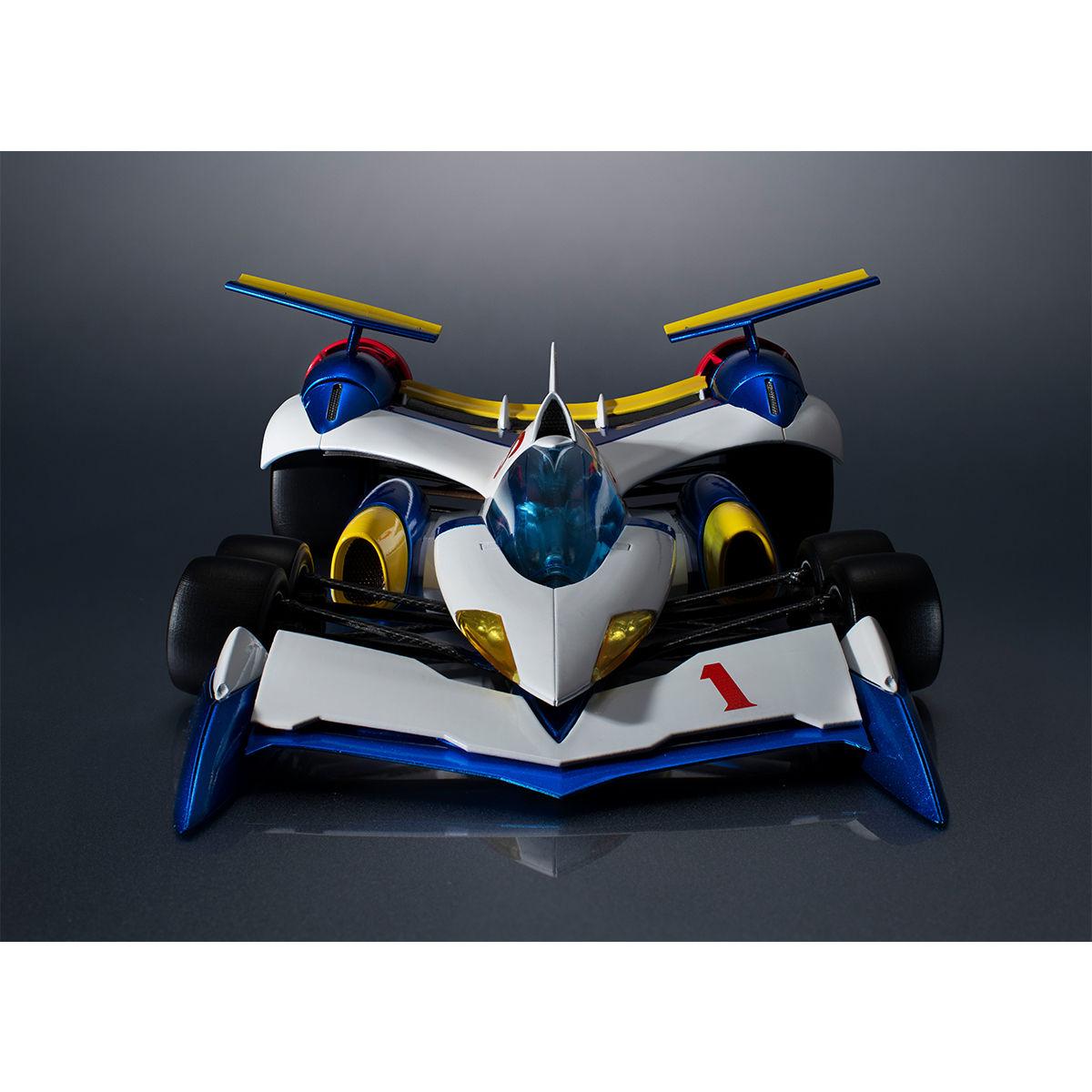 ヴァリアブルアクション Hi-SPEC『スーパーアスラーダ AKF-11』新世紀GPXサイバーフォーミュラ 1/18 可動モデル-008