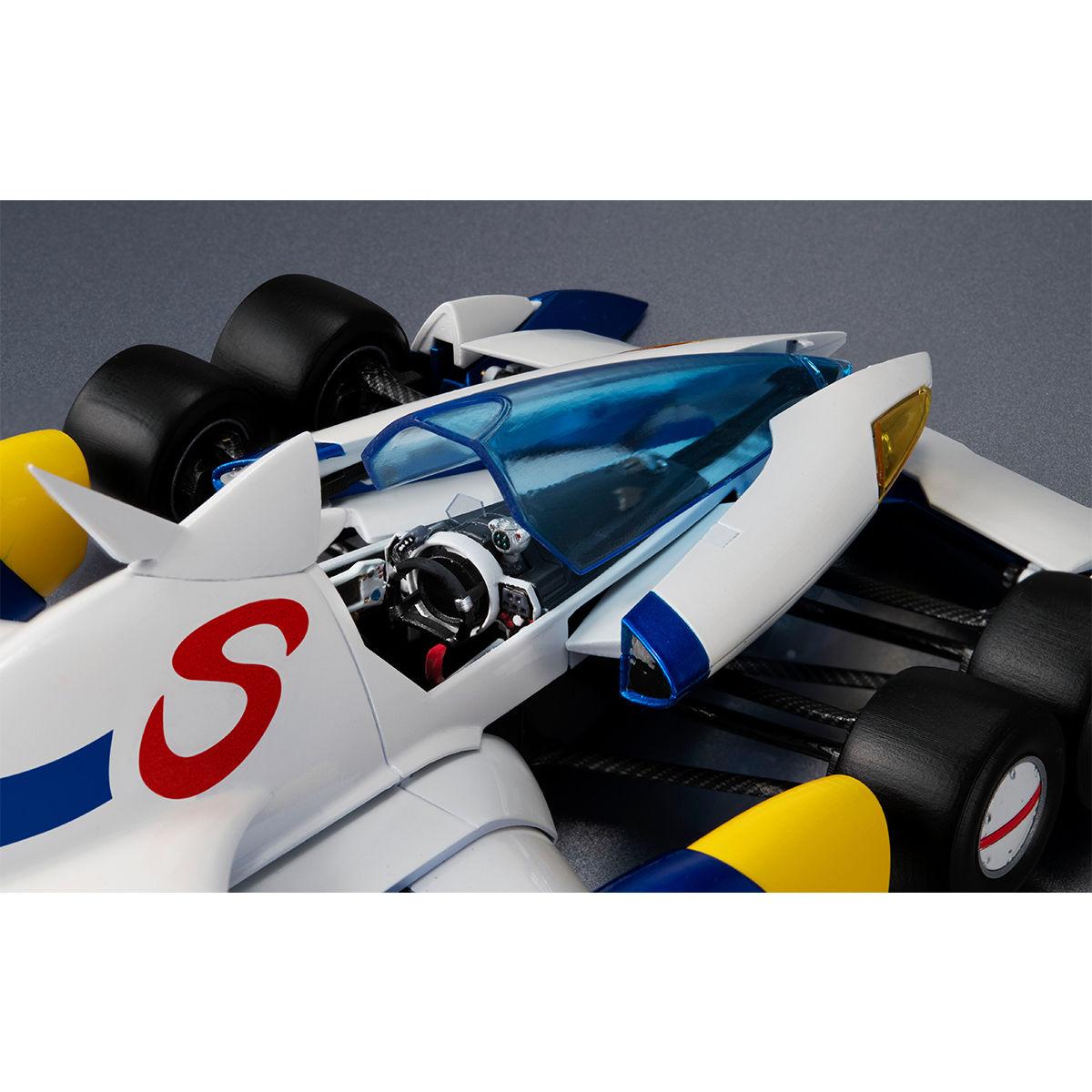 ヴァリアブルアクション Hi-SPEC『スーパーアスラーダ AKF-11』新世紀GPXサイバーフォーミュラ 1/18 可動モデル-009