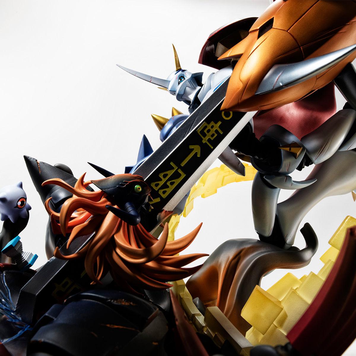 【限定販売】V.S.シリーズ『オメガモン vs ディアボロモン』デジモンアドベンチャー ぼくらのウォーゲーム! 完成品フィギュア-001