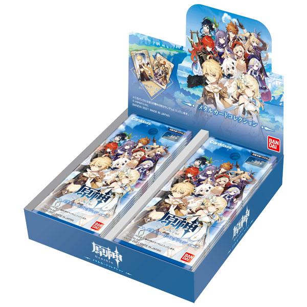 原神『原神 メタルカードコレクション』20パック入りBOX