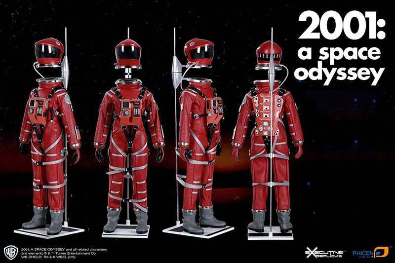 2001年宇宙の旅『ディスカバリー アストロノーツ スーツ レッド ver.』1/6 可動フィギュア-002