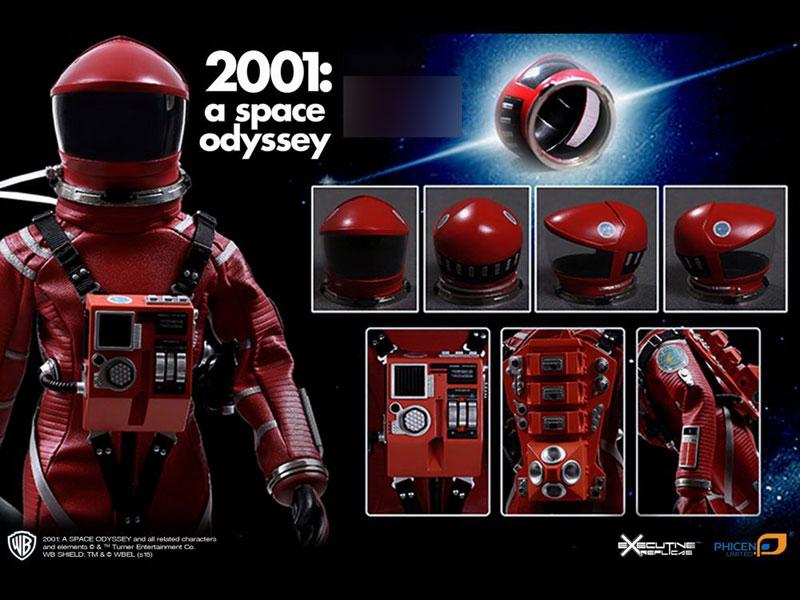 2001年宇宙の旅『ディスカバリー アストロノーツ スーツ レッド ver.』1/6 可動フィギュア-003