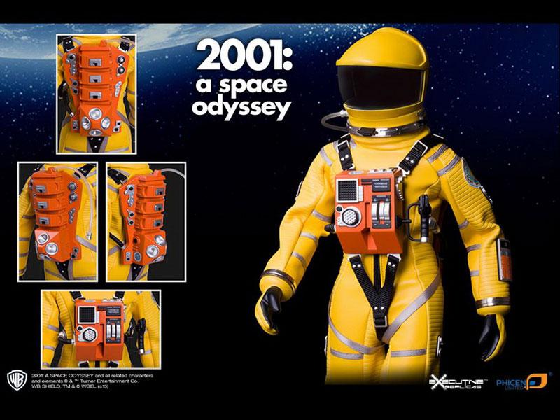 2001年宇宙の旅『ディスカバリー アストロノーツ スーツ レッド ver.』1/6 可動フィギュア-007