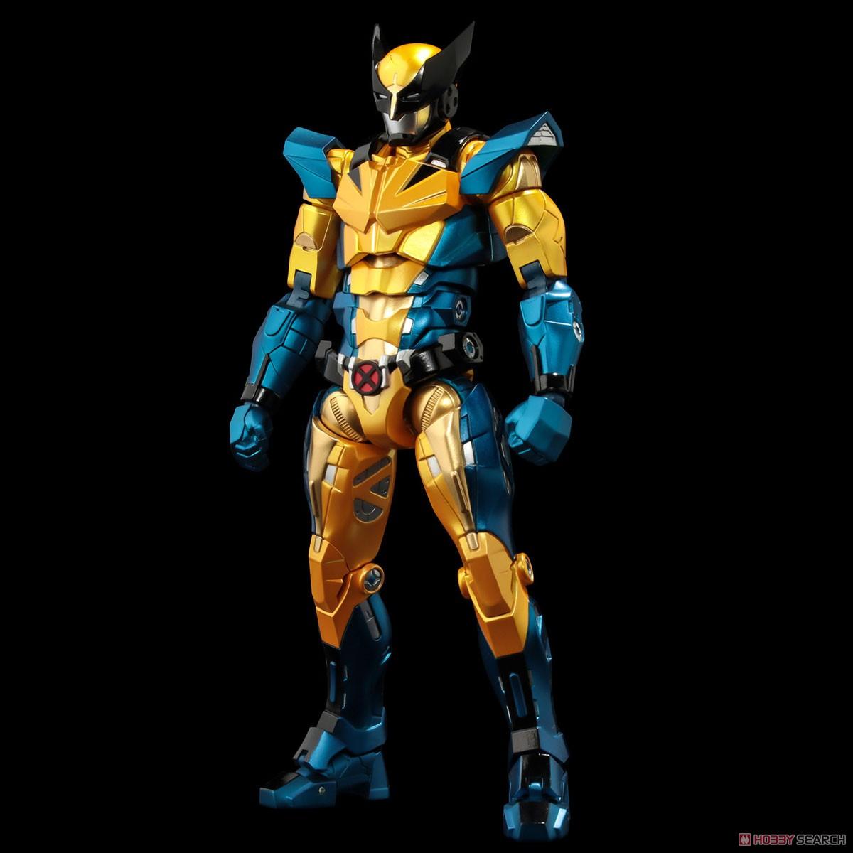 ファイティングアーマー『ウルヴァリン』X-MEN 可動フィギュア-002