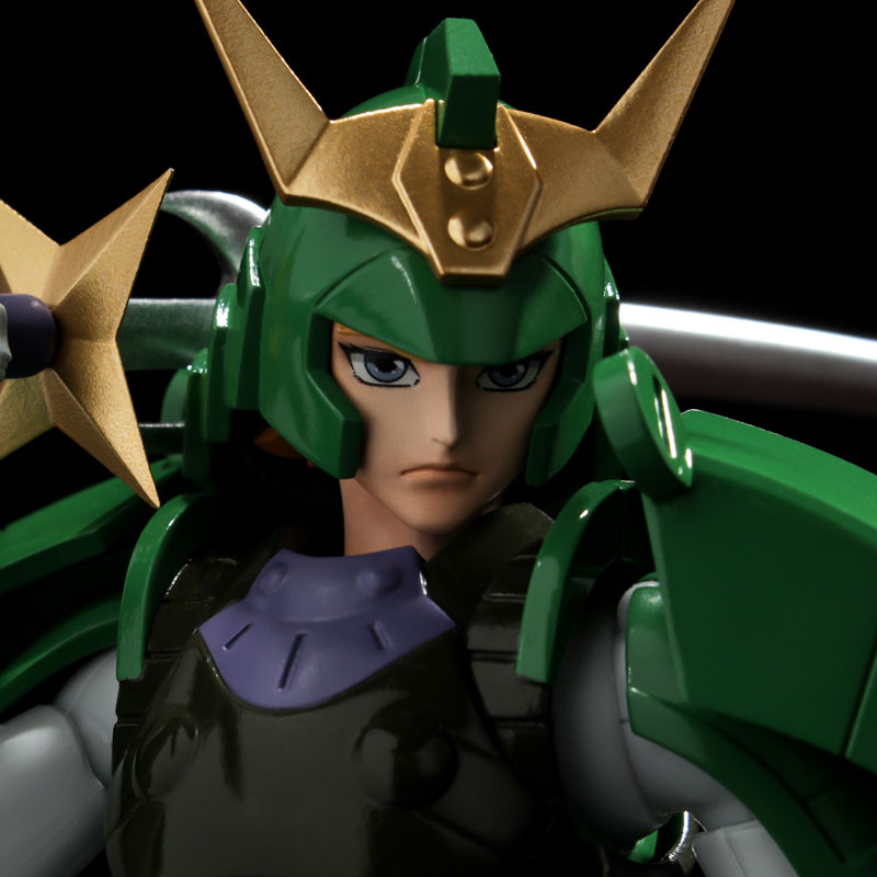 超弾可動『光輪のセイジ』鎧伝サムライトルーパー 可動フィギュア-006