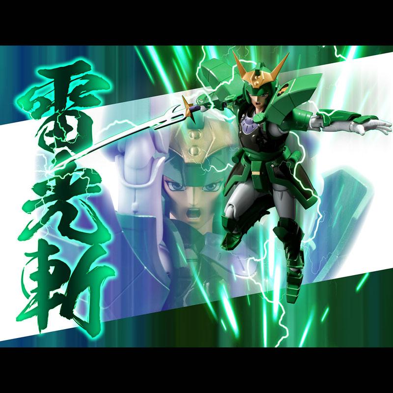 超弾可動『光輪のセイジ』鎧伝サムライトルーパー 可動フィギュア-012