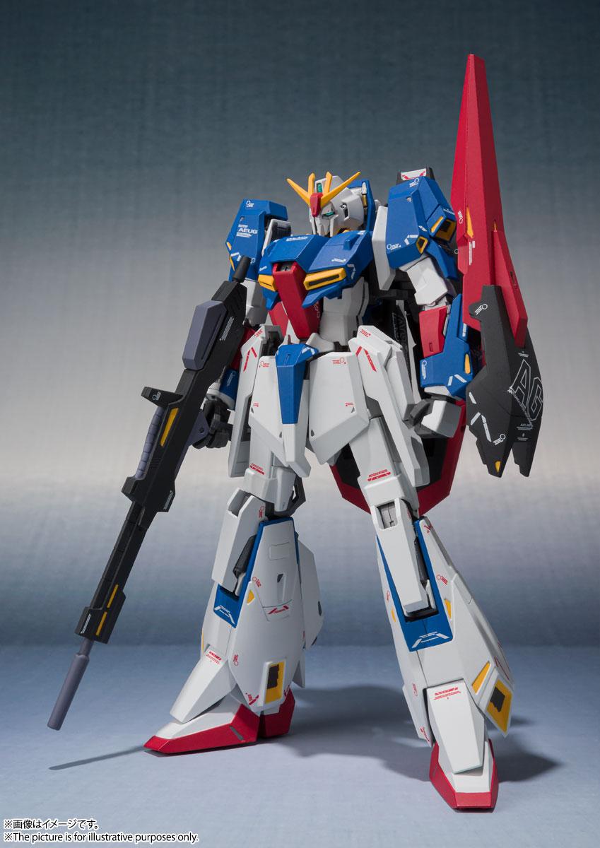 METAL ROBOT魂〈SIDE MS〉『Zガンダム(Ka signature)』機動戦士Zガンダム 可動フィギュア-001