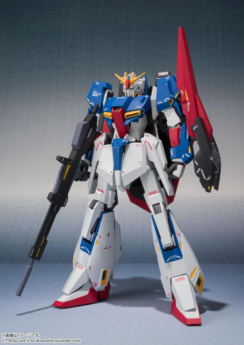 METAL ROBOT魂〈SIDE MS〉『Zガンダム(Ka signature)』機動戦士Zガンダム 可動フィギュア-002