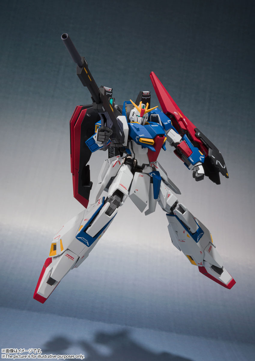 METAL ROBOT魂〈SIDE MS〉『Zガンダム(Ka signature)』機動戦士Zガンダム 可動フィギュア-004