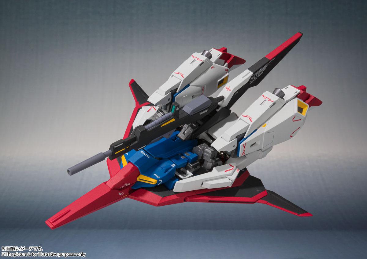 METAL ROBOT魂〈SIDE MS〉『Zガンダム(Ka signature)』機動戦士Zガンダム 可動フィギュア-008