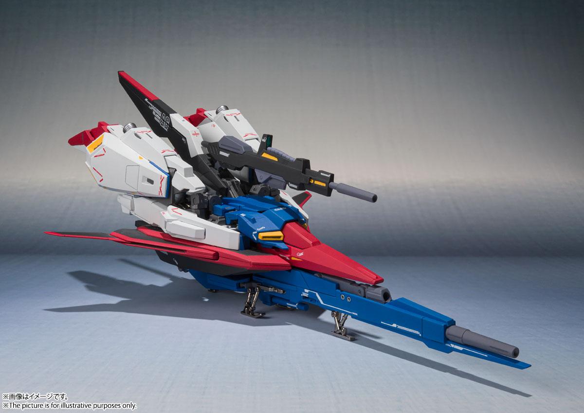 METAL ROBOT魂〈SIDE MS〉『Zガンダム(Ka signature)』機動戦士Zガンダム 可動フィギュア-009