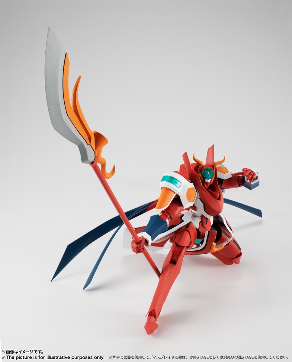 ROBOT魂〈SIDE BH〉『ブライハイト ムガ』バック・アロウ 可動フィギュア-011