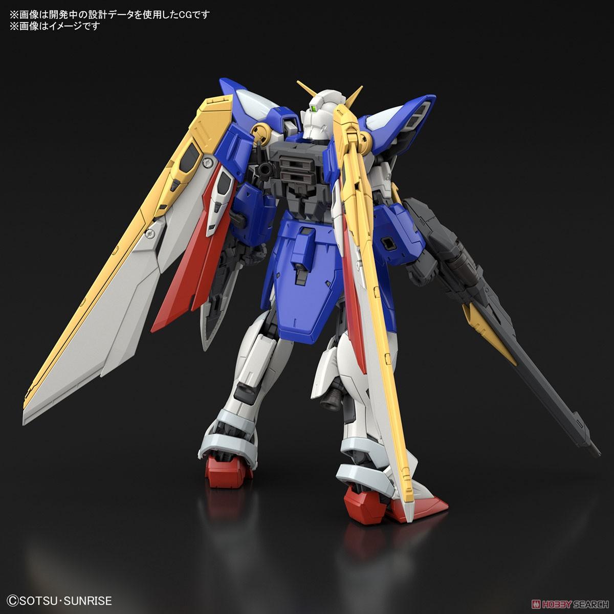 RG 1/144『ウイングガンダム』新機動戦記ガンダムW プラモデル-002