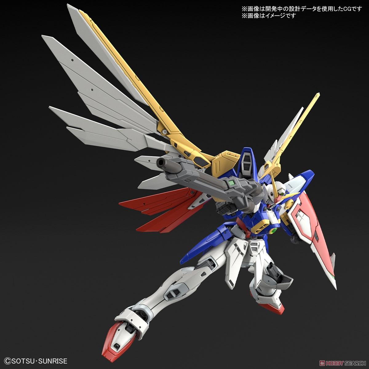 RG 1/144『ウイングガンダム』新機動戦記ガンダムW プラモデル-003