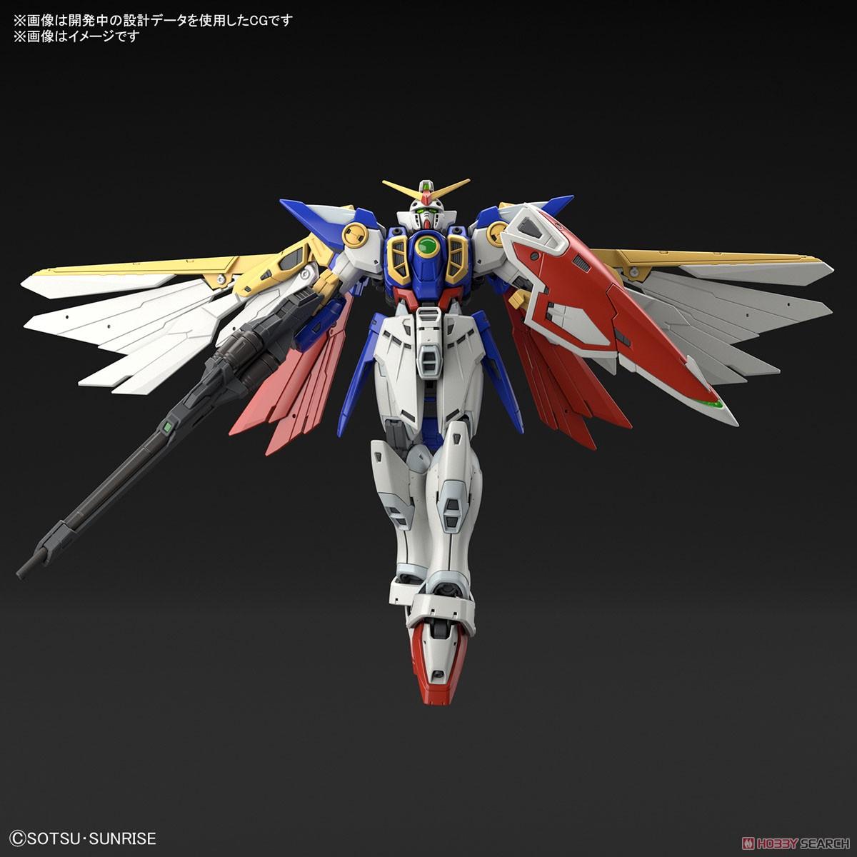 RG 1/144『ウイングガンダム』新機動戦記ガンダムW プラモデル-004