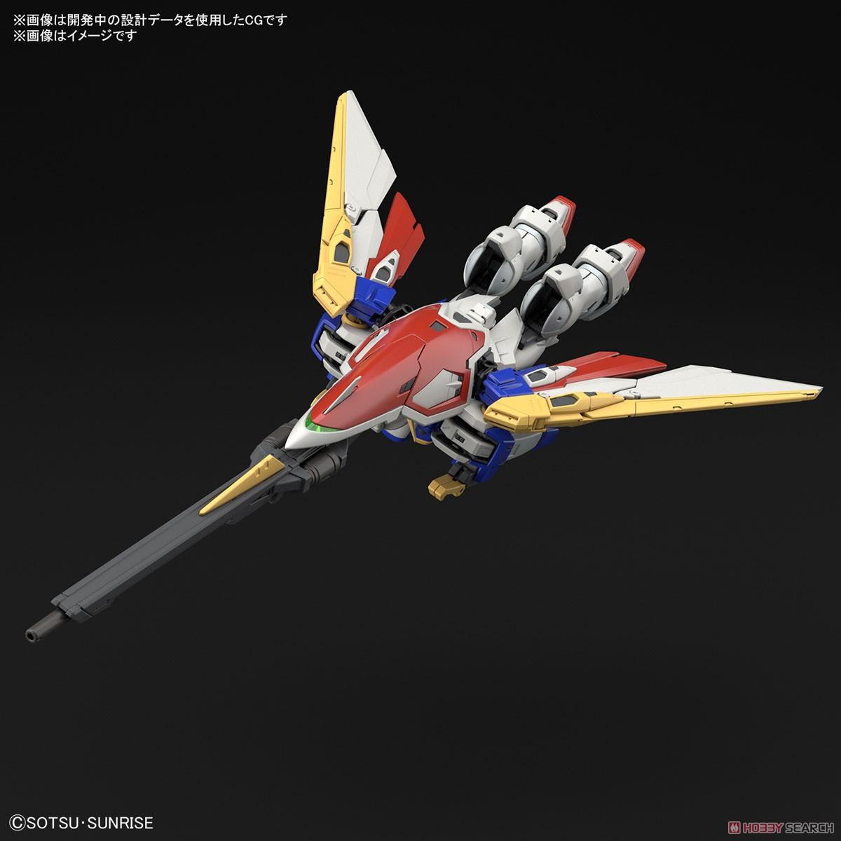 RG 1/144『ウイングガンダム』新機動戦記ガンダムW プラモデル-005