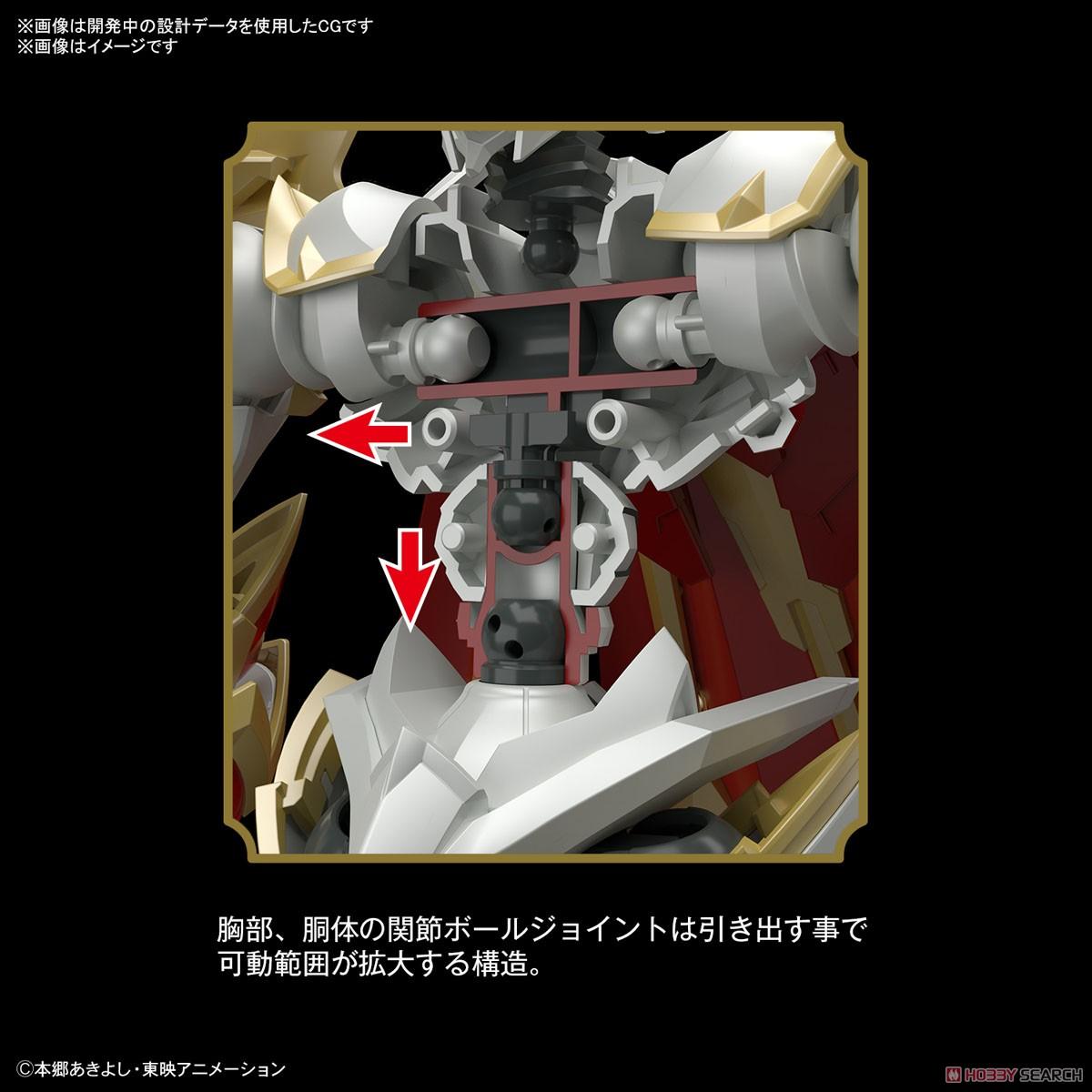 Figure-rise Standard Amplifie『デュークモン』デジモンテイマーズ プラモデル-004
