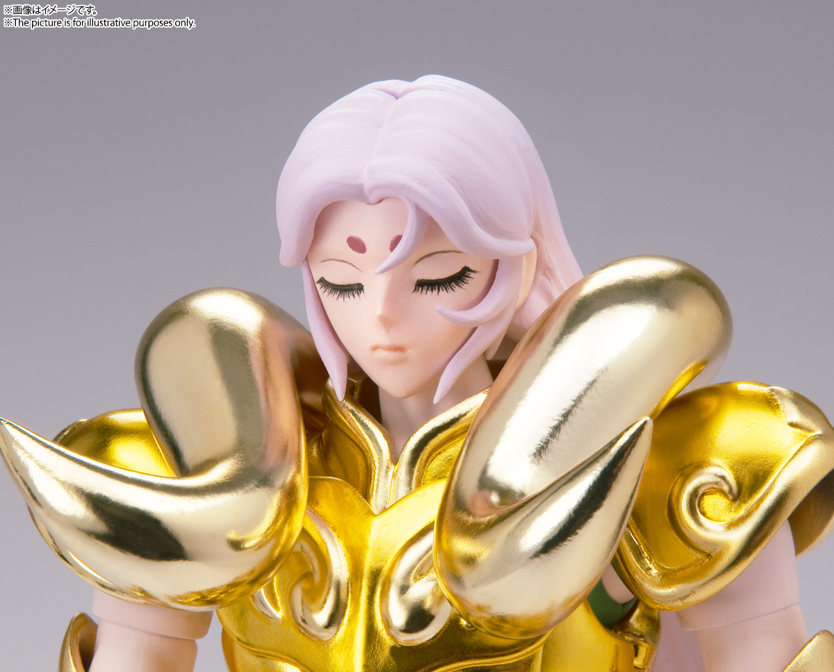 聖闘士聖衣神話EX『アリエスムウ〈リバイバル版〉』聖闘士星矢 可動フィギュア-006