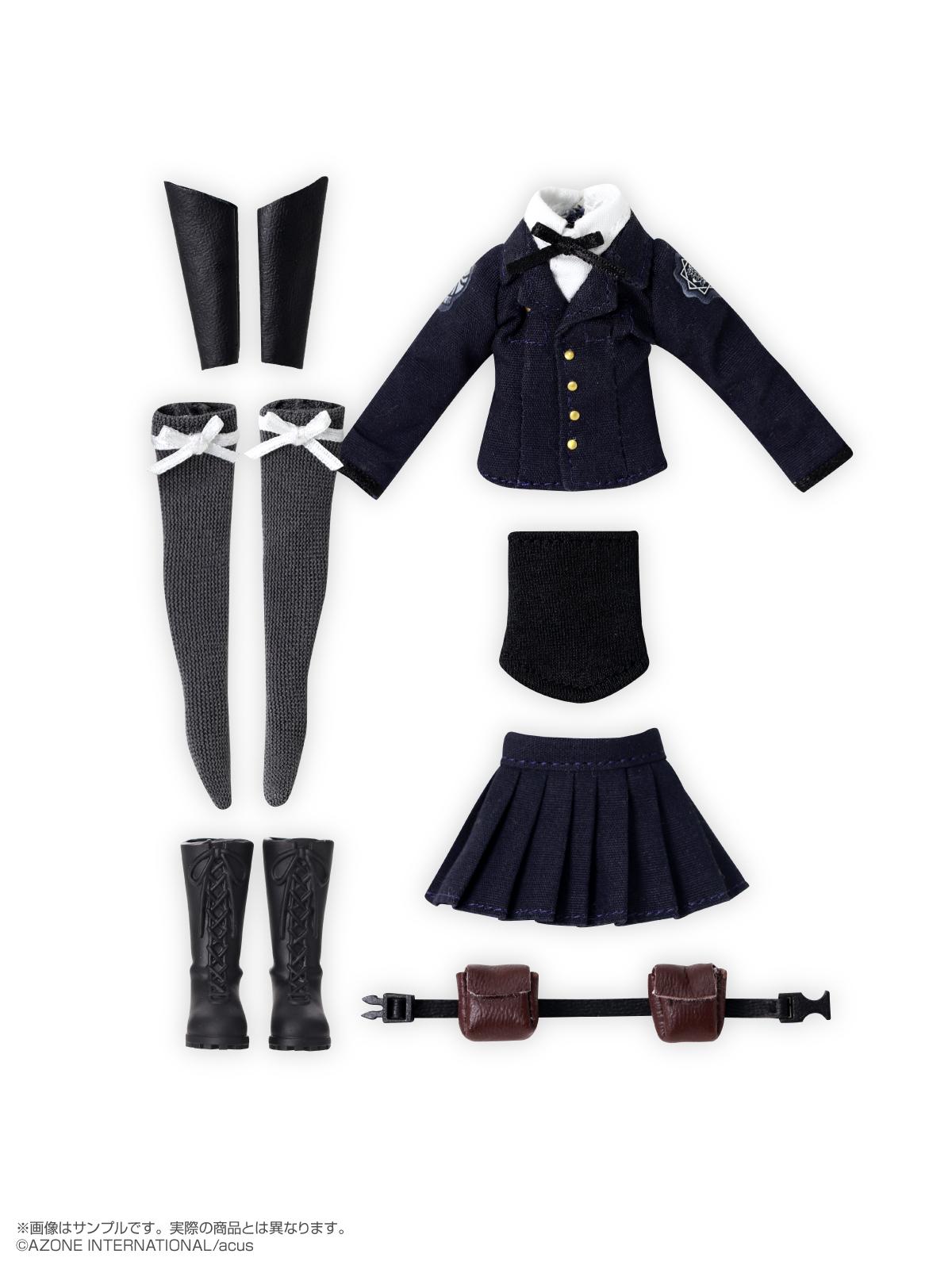 ピコニーモ用ウェア『相模女子 制服セット Sサイズ』1/12 ドール服-001
