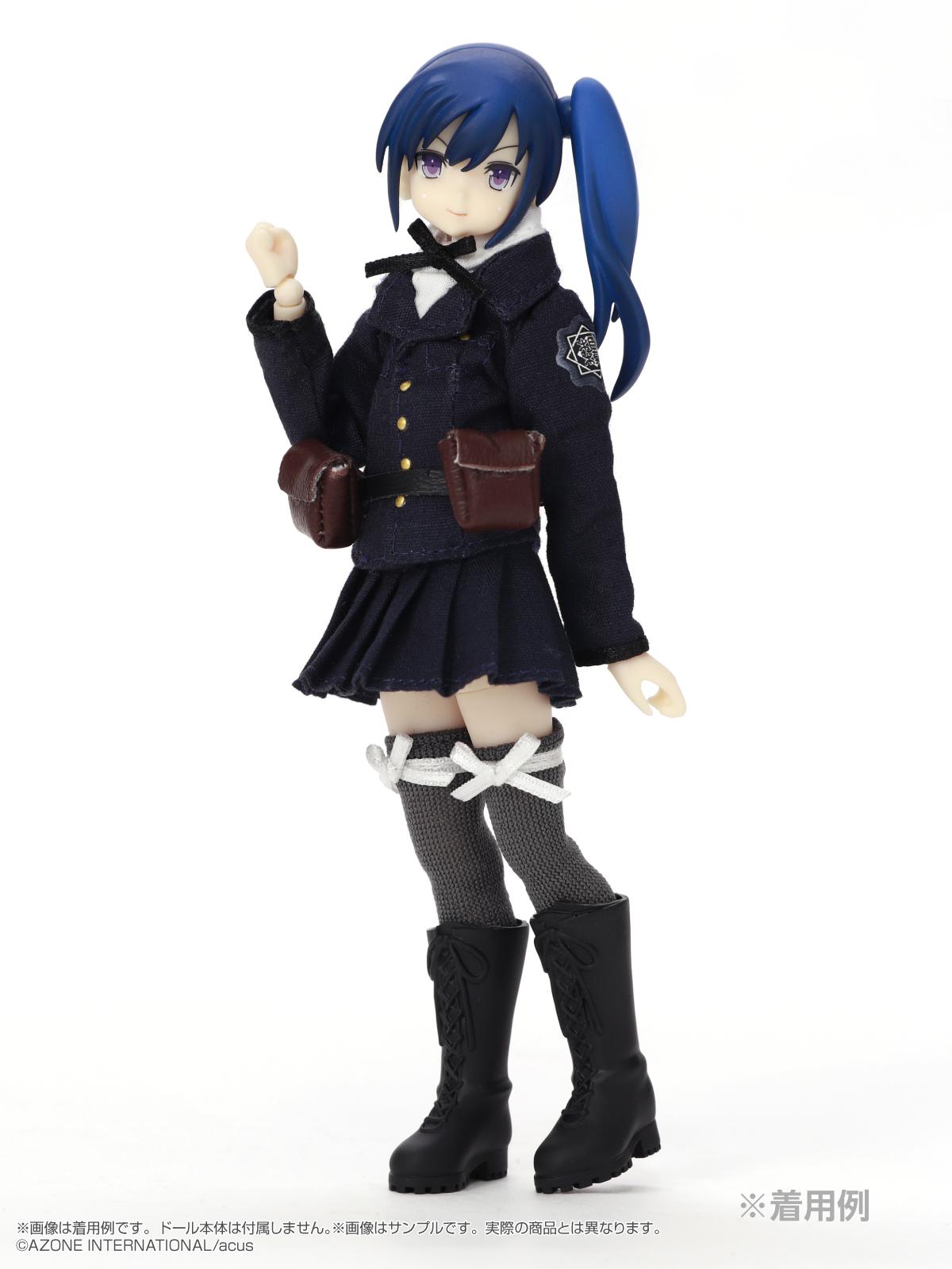 ピコニーモ用ウェア『相模女子 制服セット Sサイズ』1/12 ドール服-002