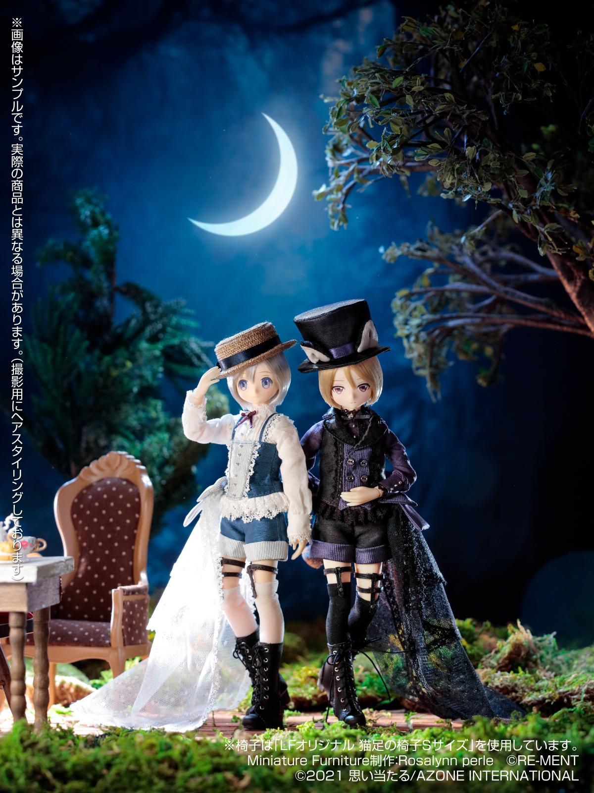 えっくす☆きゅーと ふぁみりー:Alice's TeaParty~お菓子なお茶会~『少年アリス/ノーア ver.1.1』1/6 完成品ドール-001
