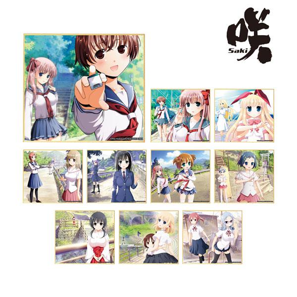 咲-Saki-『咲-Saki- トレーディングミニ色紙 ver.A』10個入りBOX-001