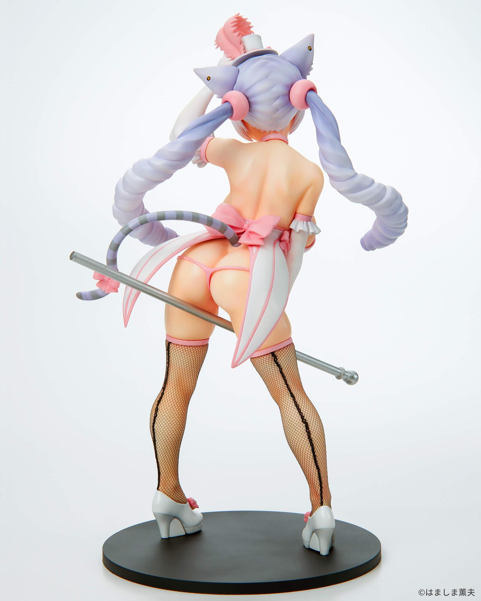 はましま薫夫オリジナルキャラクター『バーレスクキャット ベル 黒猫ver.』1/7 完成品フィギュア-024