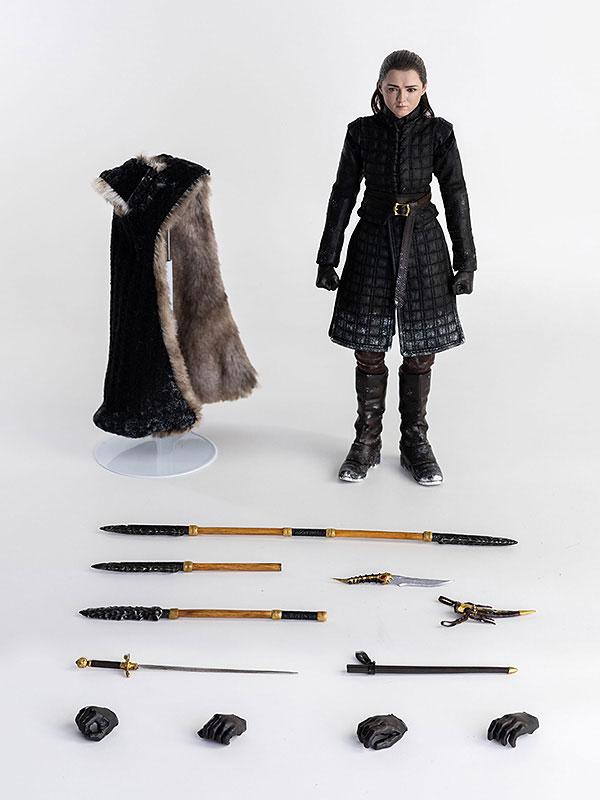 Game of Thrones『アリア・スターク(Arya Stark)シーズン8』ゲーム・オブ・スローンズ 1/6 可動フィギュア-008