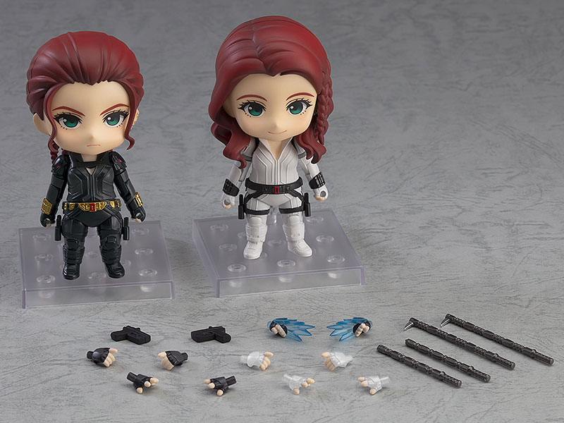 ねんどろいど『ブラックウィドウ Black Widow Ver. DX』デフォルメ可動フィギュア-001