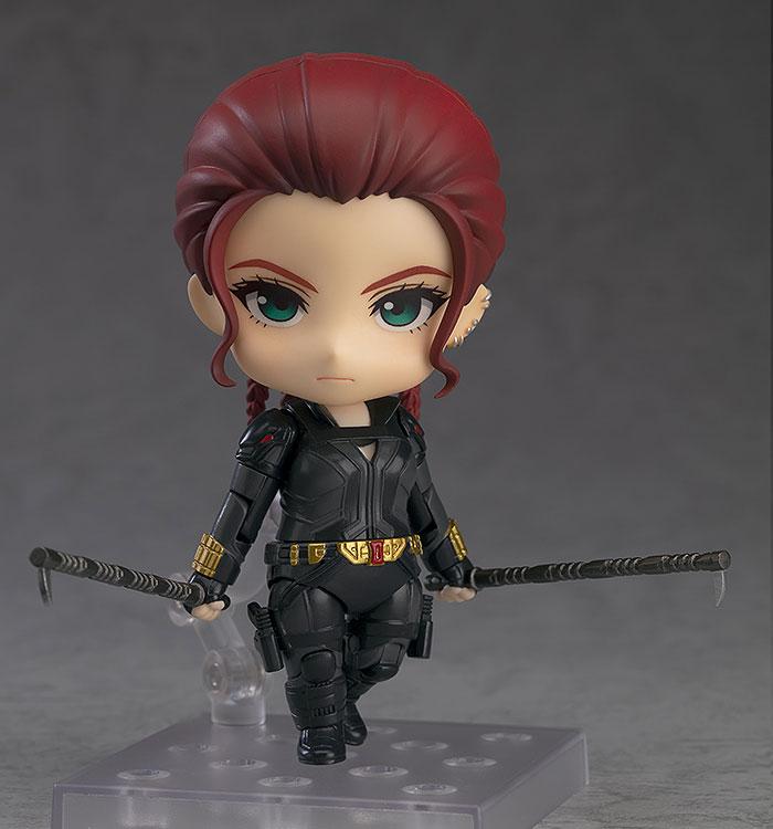 ねんどろいど『ブラックウィドウ Black Widow Ver. DX』デフォルメ可動フィギュア-004