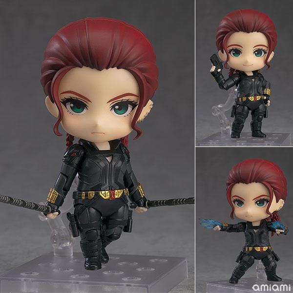 ねんどろいど『ブラックウィドウ Black Widow Ver.』デフォルメ可動フィギュア