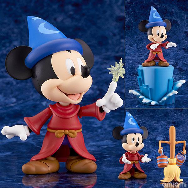 ねんどろいど『ミッキーマウス Fantasia Ver.』ファンタジア デフォルメ可動フィギュア