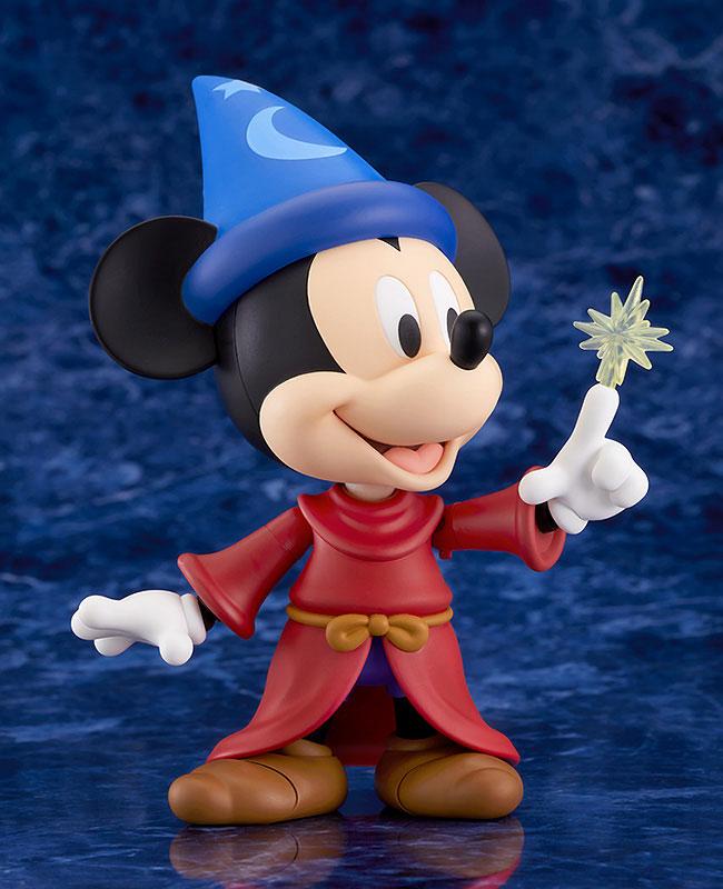 ねんどろいど『ミッキーマウス Fantasia Ver.』ファンタジア デフォルメ可動フィギュア-001