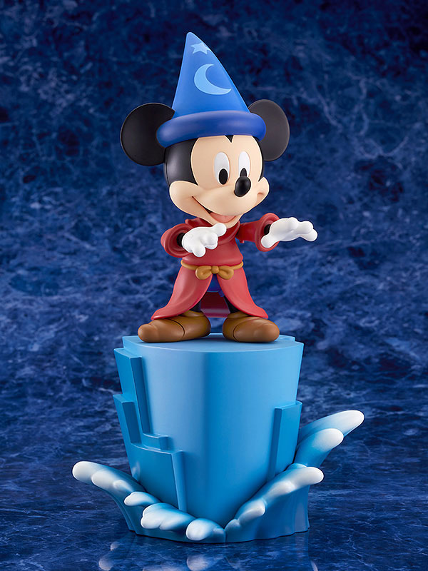 ねんどろいど『ミッキーマウス Fantasia Ver.』ファンタジア デフォルメ可動フィギュア-002