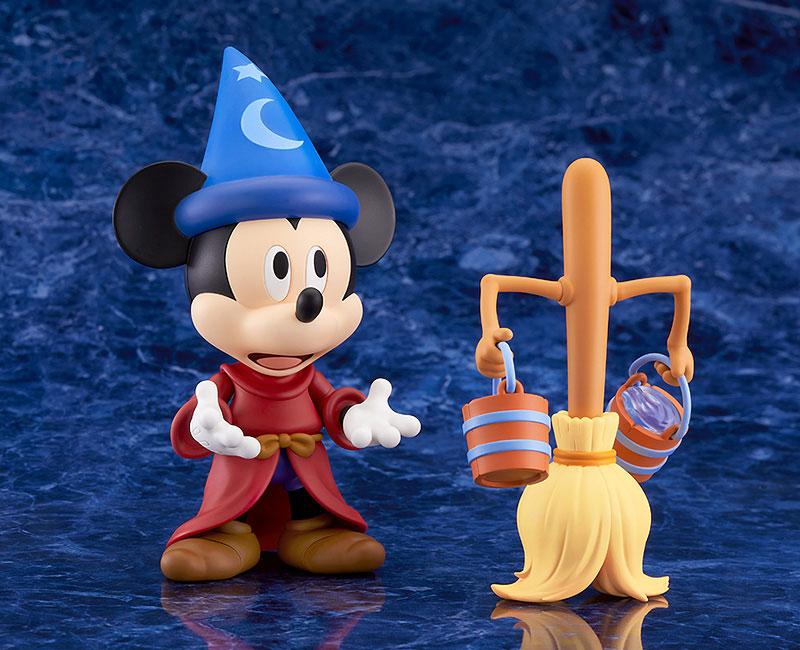 ねんどろいど『ミッキーマウス Fantasia Ver.』ファンタジア デフォルメ可動フィギュア-004