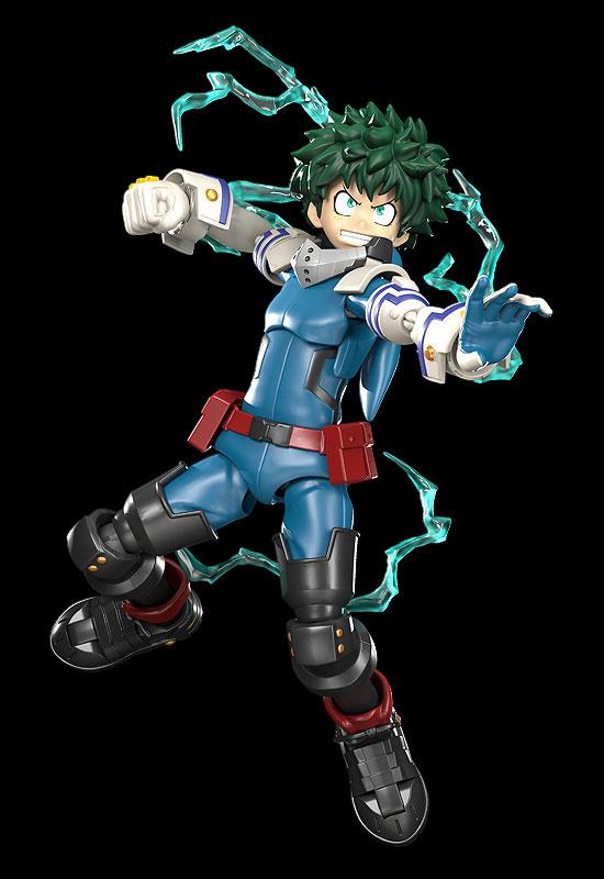 MODEROID『緑谷出久』僕のヒーローアカデミア プラモデル-002